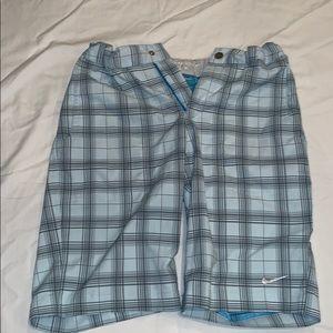 Nike Golf Light Blue Shorts
